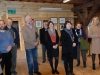 Parodos atidarymas Užvenčio kraštotyros muziejuje, 2013   Opening of the exhibition in Užventis Museum, 2013